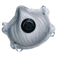 Moldex 2400 Series N95 Particulate Respirators - 2400 Series N95 Particulate Respirators, Half-facepiece, M/L, 10/bag - 507-2400N95 - Moldex