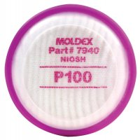 Moldex 7000 & 9000 Series Filter Disks - 7000 & 9000 Series Filter Disks, Oil and Non-oil Particulates, P100 - 507-7940 - Moldex
