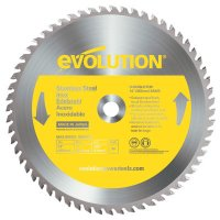 Evolution TCT Metal-Cutting Blades - TCT Metal-Cutting Blades, 14 in, 1 in Arbor, 1,600 rpm, 90 Teeth - Evolution - 510-14BLADE-SSN