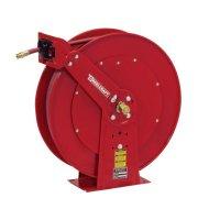 Reelcraft Heavy Duty Spring Retractable Hose Reels - Heavy Duty Spring Retractable Hose Reels, 1/2 in x 100 ft - Reelcraft - 523-82100OLP