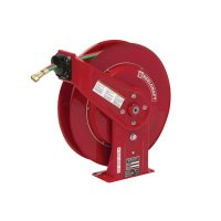 Gas-Welding Hose Reels with Hose, 50 ft, Retractable - 523-TW7450OLP - Reelcraft