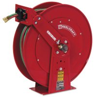 Reelcraft Gas Welding Hose Reel - Gas Welding Hose Reel, 1/4 in x 100 ft - 523-TW84100OLPT - Reelcraft