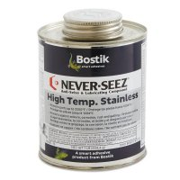 Never-Seez High Temperature Stainless Lubricating Compounds - High Temperature Stainless Lubricating Compounds, 1 lb Brush Top Can - 535-NSSBT-16 - Never-Seez