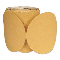 Norton Blank Disc Roll A290 - Stick and Sand Paper Discs, Aluminum Oxide, 6 in Dia., 80 Grit - 547-66261149842 - Norton