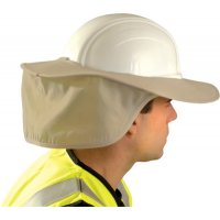 OccuNomix Stow Away Hard Hat Shades - Stow Away Hard Hat Shades, Khaki - 561-899-KHK - OccuNomix