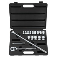 Stanley Tools for The Mechanic 17 Piece Socket Sets - 17 Piece Socket Sets, 1/2 in, 12 Point - 576-85-425 - Stanley® Products