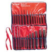 Proto® Punch & Chisel Sets - Punch & Chisel Sets, English, 17 Punches, 9 Chisels - 577-46 - Stanley® Products