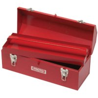 Proto® Hip Roof Tool Boxes - Hip Roof Tool Boxes, 7 in D, Steel, Red - Stanley® Products - 577-9971-NA