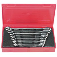 Blackhawk™ 12 Pc. Reversible Gear Ratcheting Wrench Sets - 12 Pc. Reversible Gear Ratcheting Wrench Sets, Metric - 578-BW-1450 - Stanley® Products