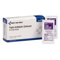 First Aid Only® Triple Antibiotic Ointment - Triple Antibiotic Ointment, 0.9 g Individual Use Packets - 579-12-725 - First Aid Only®