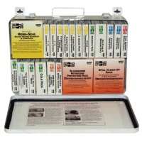 First Aid Only® 36 Unit Steel First Aid Kits - 36 Unit Steel First Aid Kits, Weatherproof Steel, Wall Mount - 579-5499 - First Aid Only®