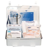 First Aid Only® 25 Person Industrial First Aid Kits - 25 Person Industrial First Aid Kits, Weatherproof Plastic, Wall Mount - 579-6084 - First Aid Only®