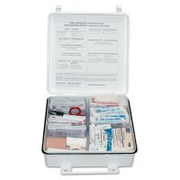 First Aid Only® 50 Person ANSI First Aid Kits - 50 Person ANSI First Aid Kits, Weatherproof Plastic - First Aid Only® - 579-6088