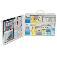 First Aid Only® 100 Person Industrial First Aid Kits - 100 Person Industrial First Aid Kits, Steel - First Aid Only® - 579-6135