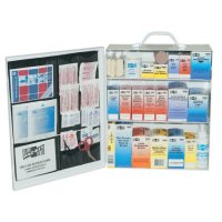 First Aid Only® 3-Shelf Industrial First Aid Stations - 3-Shelf Industrial First Aid Stations, Steel, Wall Mount - First Aid Only® - 579-6155