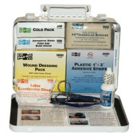 First Aid Only® 25 Person Vehicle First Aid Kits - 25 Person Vehicle First Aid Kits, Weatherproof Steel, Wall Mount - 579-6420 - First Aid Only®