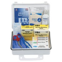 First Aid Only® 25 Person ANSI Plus First Aid Kits - 25 Person ANSI Plus First Aid Kits, Weatherproof Plastic, Wall Mount - 579-6430 - First Aid Only®