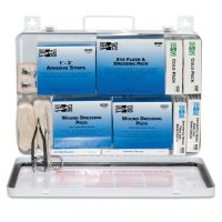 First Aid Only® 50 Person Industrial First Aid Kits - 50 Person Industrial First Aid Kits, Weatherproof Steel - 579-6450 - First Aid Only®