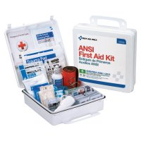 First Aid Only® ANSI B Type III Weatherproof 50 Person Bulk First Aid Kits - ANSI B Type III Weatherproof 50 Person Bulk First Aid Kits, Plastic, Wall Mount - 579-90566 - First Aid Only®