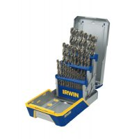 Irwin® 29-pc Cobalt M-35 Metal Index Drill Bit Sets - 29-pc Cobalt M-35 Metal Index Drill Bit Sets, 1/16 in - 1/2 in Cut Dia. - 585-3018002 - Stanley® Products