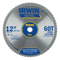 Irwin® Metal Cutting Blades - Metal Cutting Blades, 12 in, 60 Teeth - 585-4935558 - Stanley® Products