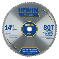 Irwin® Metal Cutting Blades - Metal Cutting Blades, 14 in, 80 Teeth - 585-4935559 - Stanley® Products