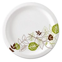 Dixie® GP PRO™ Heavy-Weight Paper Plates - GP PRO Heavy-Weight Paper Plates, 2 Compartments - 602-SXP10PATH - Dixie®