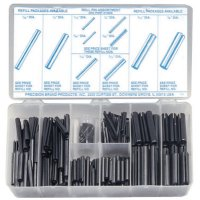 Precision Brand Roll Pin Assortments - Roll Pin Assortments, Spring Steel - 605-12925 - Precision Brand