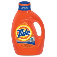 Procter & Gamble Tide® HE Liquid Laundry Detergent - Tide HE Liquid Laundry Detergent, 100 oz Bottle - 608-08886 - Procter & Gamble