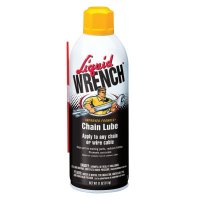 Radiator Specialty Liquid Wrench® Chain Lubes - Liquid Wrench Chain Lubes, 11 oz Aerosol Can - 615-L7-11 - Radiator Specialty