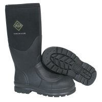 Muck® Boots Chore Classic Work Boots with Steel Toe - Chore Classic Work Boots with Steel Toe, Size 12, 16 in H, Black - 617-CHS-000A-BLK-120 - Honeywell