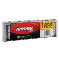 Rayovac Maximum® Alkaline Shrink Pack Batteries - Maximum Alkaline Shrink Pack Batteries, 9 V - Rayovac - 620-AL9V-6J