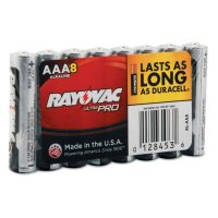 Rayovac Maximum® Alkaline Shrink Pack Batteries - Maximum Alkaline Shrink Pack Batteries, 1.5 V, AAA - 620-ALAAA-8J - Rayovac