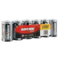 Rayovac Maximum® Alkaline Shrink Pack Batteries - Maximum Alkaline Shrink Pack Batteries, 1.5 V, D - 620-ALD-6J - Rayovac