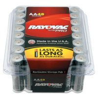 Rayovac Ultra Pro Alkaline Reclosable Batteries - Alkaline Reclosable Batteries, 1.5 V, AA - 620-ALAA-48PPJ - Rayovac