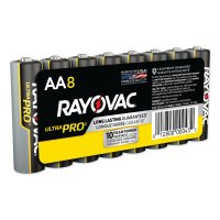 Rayovac Maximum® Alkaline Shrink Pack Batteries - Maximum Alkaline Shrink Pack Batteries, 1.5 V, AA - Rayovac - 620-ALAA-8J