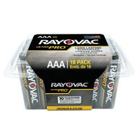 Rayovac Ultra Pro Alkaline Reclosable Batteries - Ultra Pro Alkaline Reclosable Batteries, AAA - 620-ALAAA-18PPJ - Rayovac