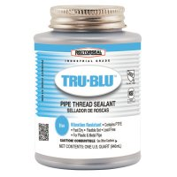 Rectorseal Tru-Blu™ Pipe Thread Sealants - Tru-Blu Pipe Thread Sealants, 1 Quart Can, Blue - 622-31300 - Rectorseal