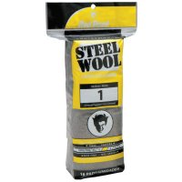 Red Devil Steel Wool - Steel Wool, Medium, #1 - 630-0314 - Red Devil