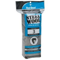Red Devil Steel Wool - Steel Wool, Course, #3 - 630-0316 - Red Devil