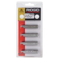 Ridgid® Power Threading/Receding Threader Model 65R Dies - Replacement Jaw Insert Set for Threading Machines, For Models 300 and 535 - 632-38100 - Ridge Tool Company