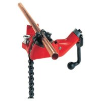 Ridgid® Top Screw Bench Chain Vises - Top Screw Bench Chain Vise, BC810A, 1/2 in - 8 in Pipe Cap - 632-40215 - Ridge Tool Company