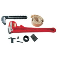 Ridgid® Pipe Wrench Replacement Parts - Pipe Wrench Replacement Parts, Heel Jaw & Pin Assembly, Size 24 - 632-31700 - Ridge Tool Company