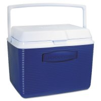 Rubbermaid Home Products Coolers - Coolers, 24 qt, Modern Blue - 325-2A13-04-MODBL - Newell Rubbermaid™
