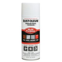 Rust-Oleum® Industrial Choice 1600 System Enamel Aerosols - Industrial Choice 1600 System Enamel Aerosols, 12 oz, White, High-Gloss - 647-1692830 - Rust-Oleum® Industrial