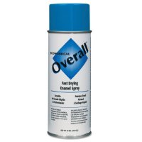 Rust-Oleum® Overall® Economical Fast Drying Enamel Aerosols - Overall Economical Fast Drying Enamel Aerosols, 10 oz Aerosol Can, Gloss Blue - 647-V2408830 - Rust-Oleum® Industrial