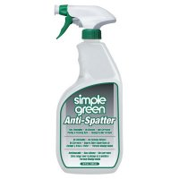 Simple Green® Anti-Spatters - Anti-Spatters, 32 oz Plastic Container with Spray Trigger, Clear - Simple Green® - 676-1410001213452