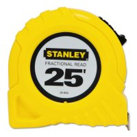 Stanley® Tape Rules - Tape Rules, 1 in x 25 ft, Inch/Fraction - 680-30-454 - Stanley® Products