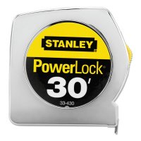 "Stanley® Powerlock® Tape Rules Wide Blade - Powerlock® Tape Rules 1"" Wide Blade, 1 in x 30 ft - 680-33-430 - Stanley® Products"