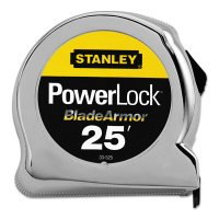 """Stanley® Powerlock® Tape Rules 1"""" Wide Blade w/BladeArmor™ - Powerlock® Tape Rules 1"""" Wide Blade w/BladeArmor™, 1 in x 25 ft - 680-33-525 - Stanley® Products"""